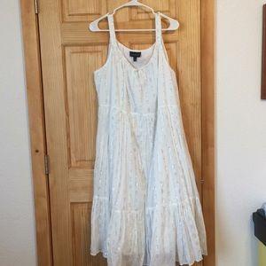 Lane Bryant Beautiful Flowing Dress